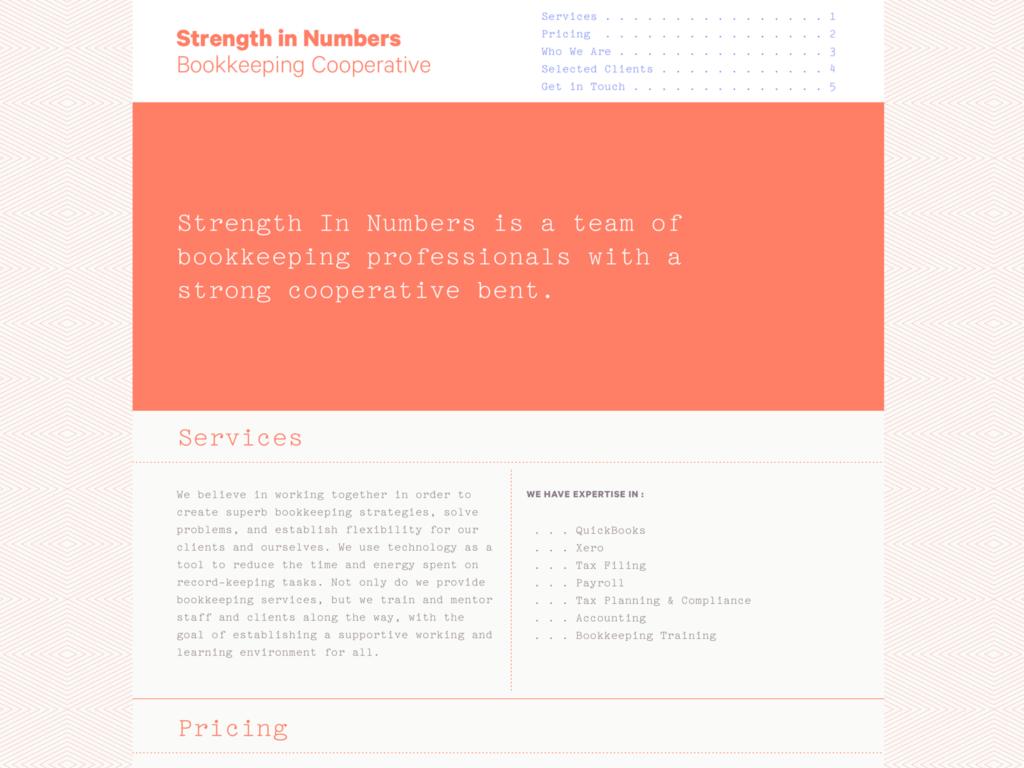 Strength In Numbers Design Studio Of Alexander Hage